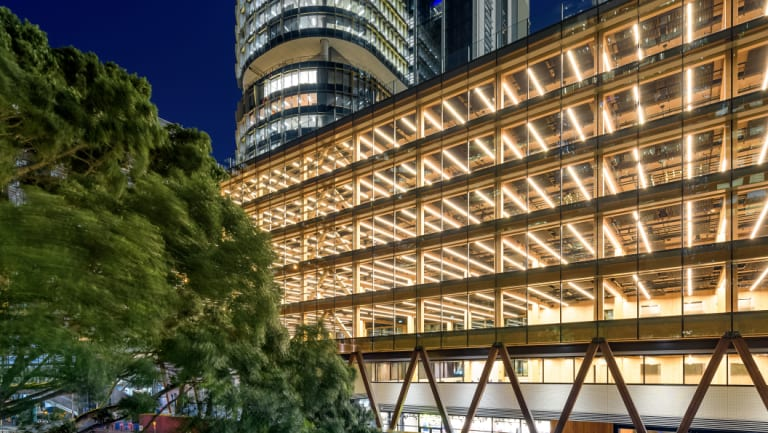 The good: International House, Barangaroo, by Tzannes.