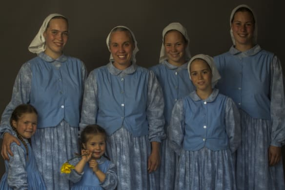 Blessed day: Meet the McCallums, one of Australia's few Amish families