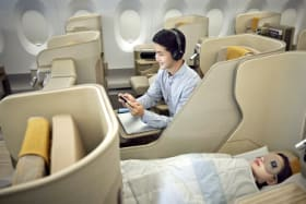 Airline review: 'Business Smartium Class' needs improvement