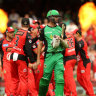 Who would have thought the cricket would provide the excitement in the BBL final?