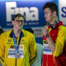 Bertrand backs Mack Horton for Sun Yang's gold