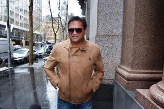 Nicky Winmar arrives on Friday.