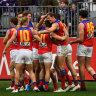 Resurgent Lions pounce to maul Dockers