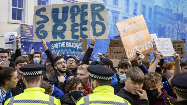 The Super League idea lasted all of three days before being abandoned due to fan unrest.