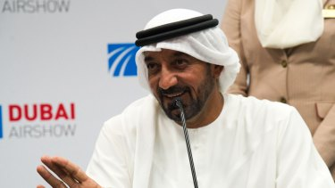 """""""If our business situation doesn't improve, we will have to take harder measures"""": Emirates CEO Sheikh Ahmed bin Saeed Al Maktoum warned staff in an email that the airline is facing a difficult future."""