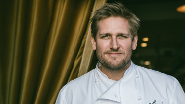 Celebrity chef Curtis Stone who created two Christmas menus for Coles.