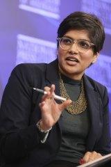 Economist Gabriela D'Souza
