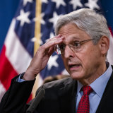 US Attorney-General Merrick Garland announces a lawsuit to block the enforcement of a new Texas law.