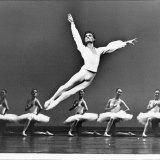David McAllister as a dancer in Etudes in 1992.
