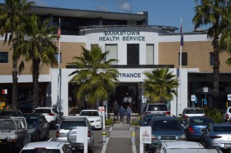 Bankstown-Lidcombe Hospital in Sydney's south-west.