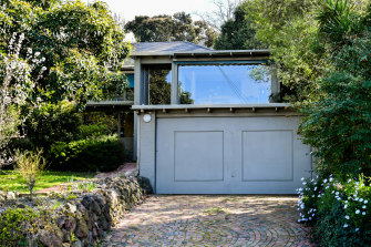 The Tannock Street home designed by Robin Boyd in 1949.