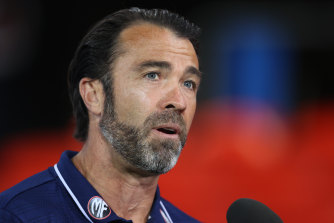 Chris Scott said Geelong were simply outplayed by the Tigers.
