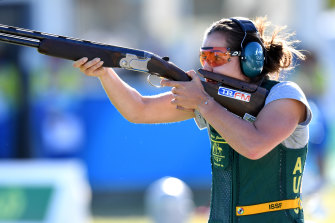 Aislin Jones is chasing a second Olympic berth this week while her sister Renae is shooting for a first.