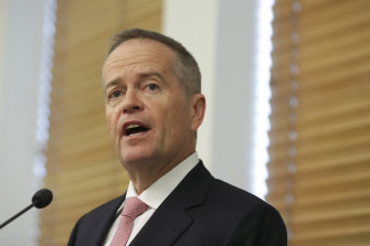 The investigation was probing donations made by AWU to GetUp and Labor campaigns while Bill Shorten was union leaer.