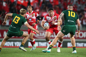 A rematch between Tonga and Australia would have been one of the highlights of the 2021 World Cup.