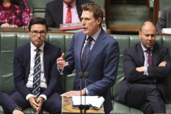 Christian Porter during question time in June.