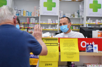 Pharmacist Fedele Cerra says his staff are being abused on a daily basis.