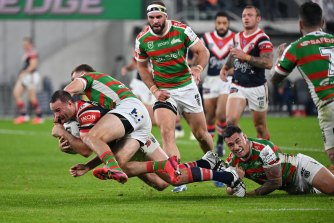 The NRL's oldest rivals, the Roosters and the Rabbitohs, do battle under the new rules in round three.