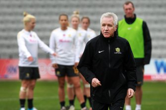 Former Matildas coach Tom Sermanni - now in charge of the Football Ferns - would have taken charge of Wellington's W-League team.