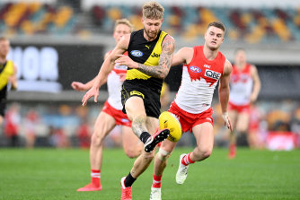 Sunday's clash between Richmond and Sydney was the second lowest-scoring game in the AFL era.