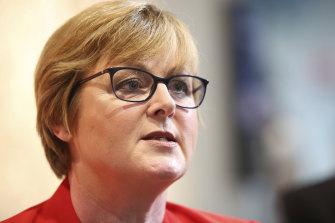 The Minister for Defence, Linda Reynolds.