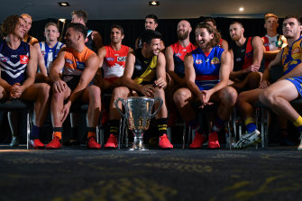 The AFL has committed to the survival of all 18 clubs. But personnel at each club will be fewer.