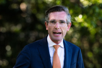 Newly appointed NSW Premier Dominic Perrottet.
