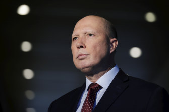 Minister for Home Affairs Peter Dutton says some members of the ADF felt let down by the government.