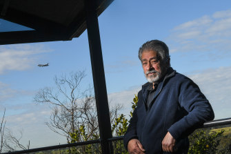 Hasan Sayer in Keilor will be affected by the aircraft noise from the new runway.