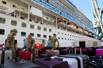 Repatriation time for the Ruby Princess's international crew members.