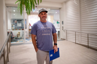 Owner Fabian Dos Santos had just bought a unit in Mascot Towers a month before the building was evacuated.