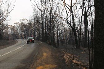 Anyone who sees suspicious activity in bushfire zones has been urged to report it to police.