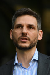 Greens MP Michael Berkman.
