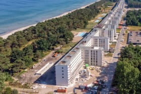 The world's longest building is a giant former Nazi beach resort