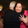 Labor claims victory to win third term in Queensland