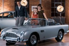 Put your little ones in the driving seat in an Aston Martin DB5 Junior.