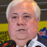 Palmer's party 'undecided' on immunisation as candidate questions risk of vaccines