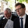 Neil Harley Former Chief of Staff for Gladys Berejiklian leaves ICAC after giving evidence.