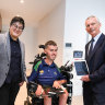 Rental housing designed for tenants with a disability handed over to new residents