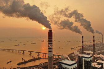 China has not committed to winding back its own coal power plants.