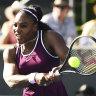 Williams destroys Anismiova to set up Pegula showdown