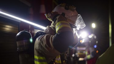 The charges against the firefighter were dropped, with the prosecution offering insufficient evidence.
