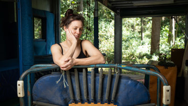 Alison at her home in Buderim on the Sunshine Coast.