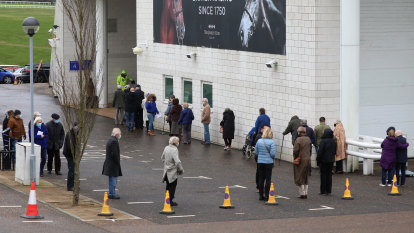 Sporting stadiums and car parks could become mass vaccination hubs