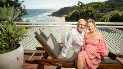 How a chance glance fashioned a great love between style couple Simon and Kirsten Lock
