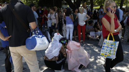 Strong quake hits near Greek capital of Athens