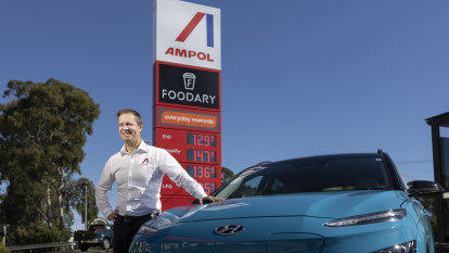 After a bruising year, Ampol revs up rebrand and green fuel ambitions