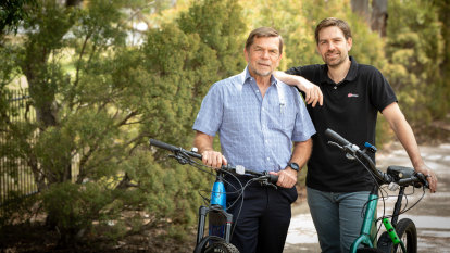 The business cycle: how Flight Centre's Graham Turner helped son Matt pedal to success