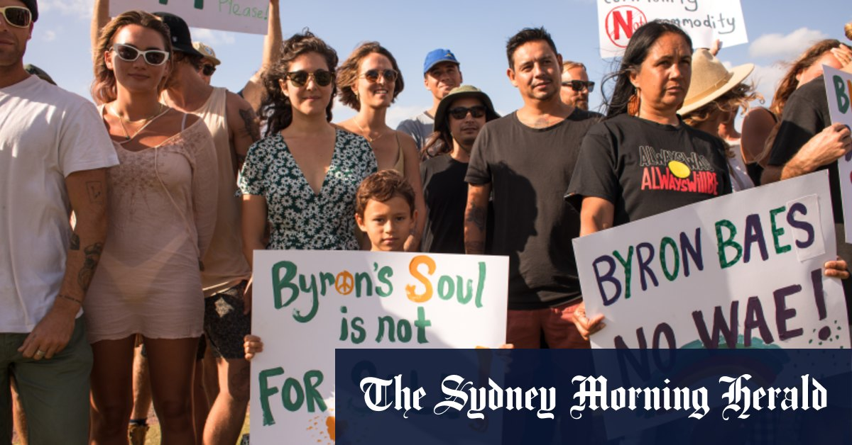 'They've got a big fight on their hands': US giant Netflix gets dose of reality in Byron Bay – Sydney Morning Herald