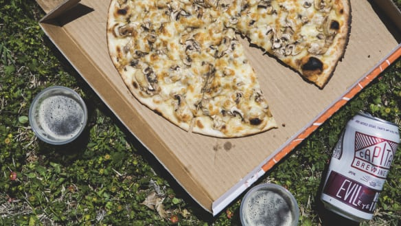 A cheatsheet to deliciously pairing Canberra pizza with beer